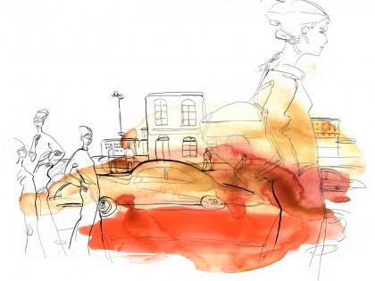 Acquerello,watercolour,moda,fashion2-AlessandraScandella