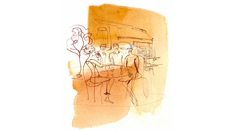 Acquerello_Caffè_Illustrazione,Alessandra Scandella