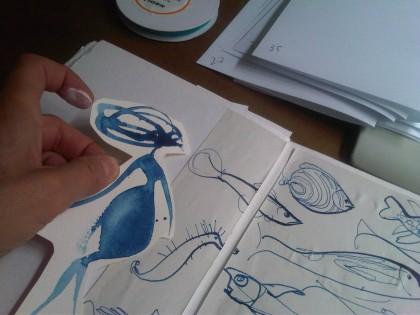 Illustration_watercolour_fishes-Alessandra_Scandella