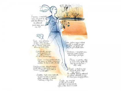 Donna_sport_illustrazione_acquerello-Alessandra_Scandella
