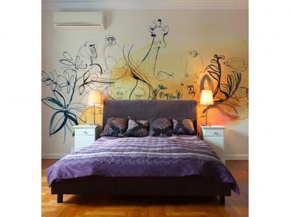 Illustrazione acquerello, 1, piante e animali, Alessandra Scandella