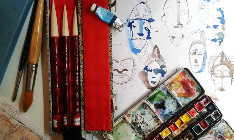 Illustrazione acquarello, Alessandra Scandella, 9