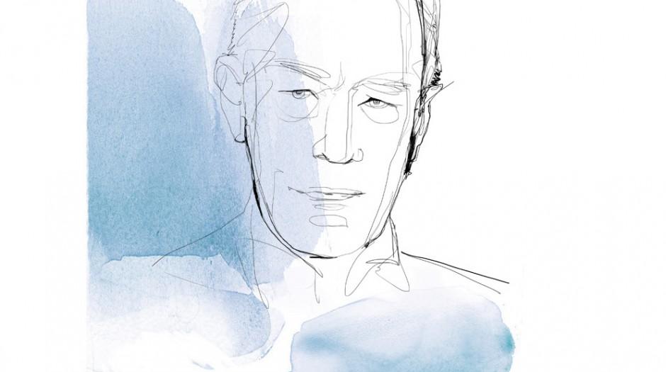 Ritratto, 2,illustrazione acquerello, Alessandra Scandella