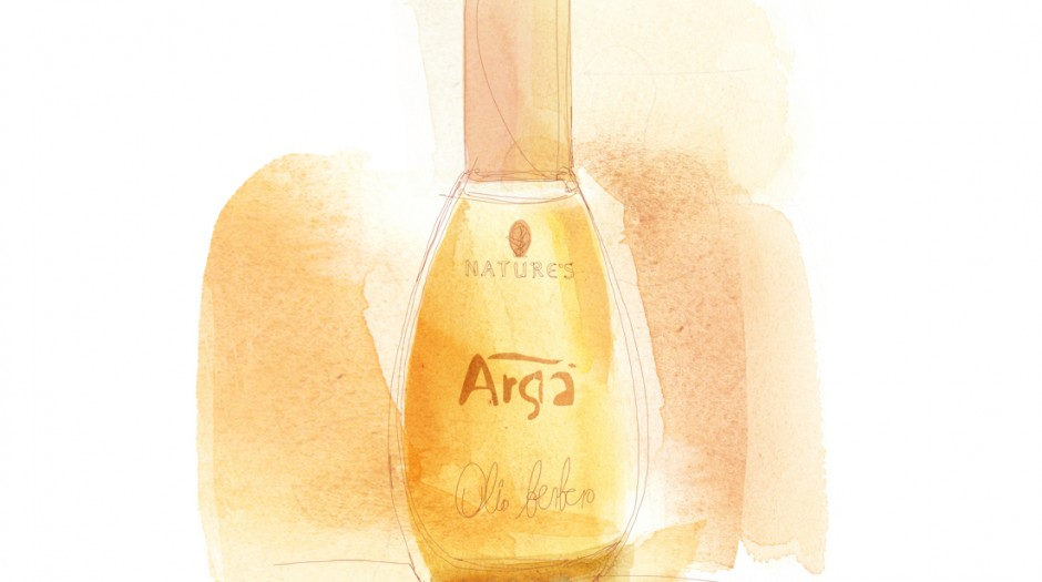 Watercolor illustration, beauty packaging
