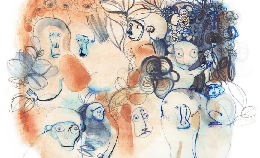Illustrazione acquerello animali