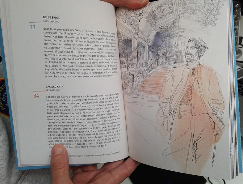 Guida Salsomaggiore, Tapirulan, ritratto Galileo Chini e Terme Salsomaggiore