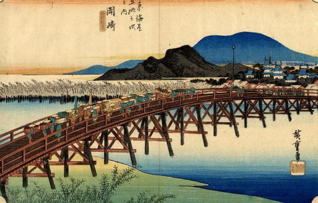 palazzo_reale-hokusai, hiroshige, utamaro