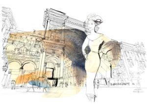 bookcity-watercolor-illustration-milano-postcards-alessandra-scandella