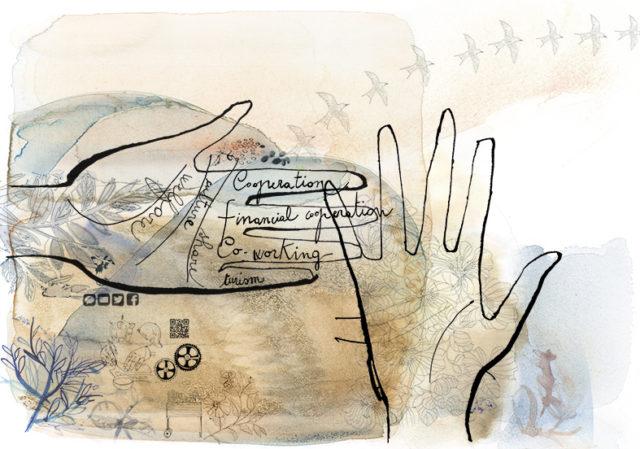 illustrazione-acquerello-alessandra-scandella-sharing-economy