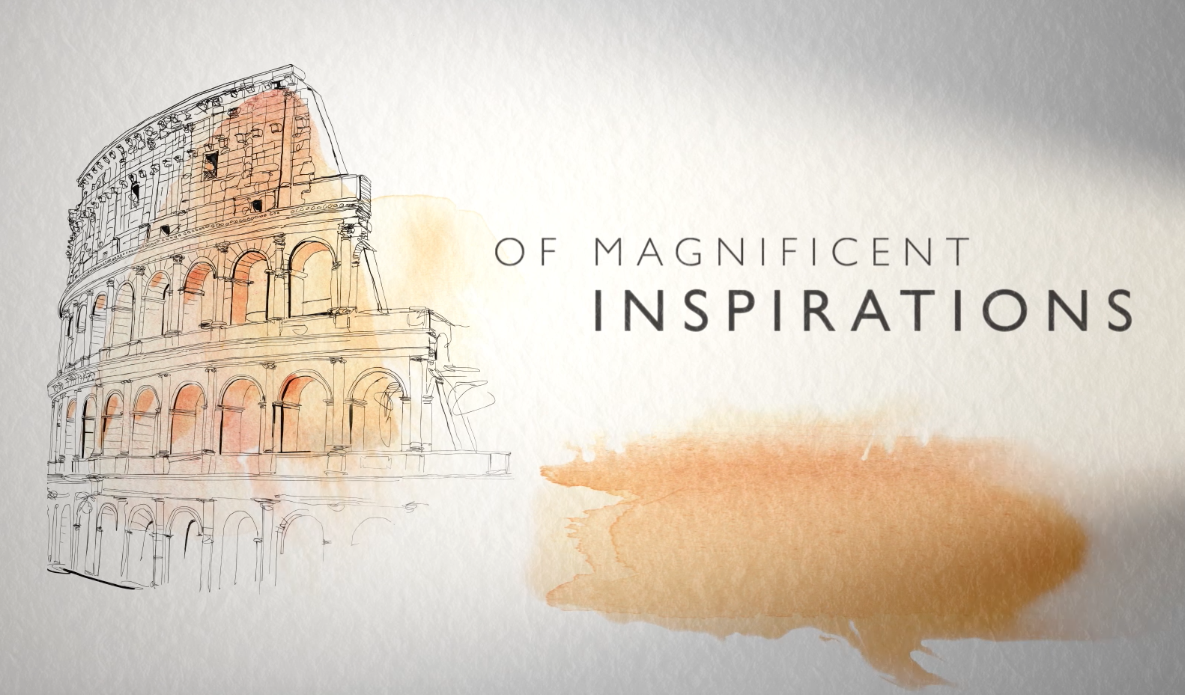 watercolor illustration for animation, client Bulgari,
