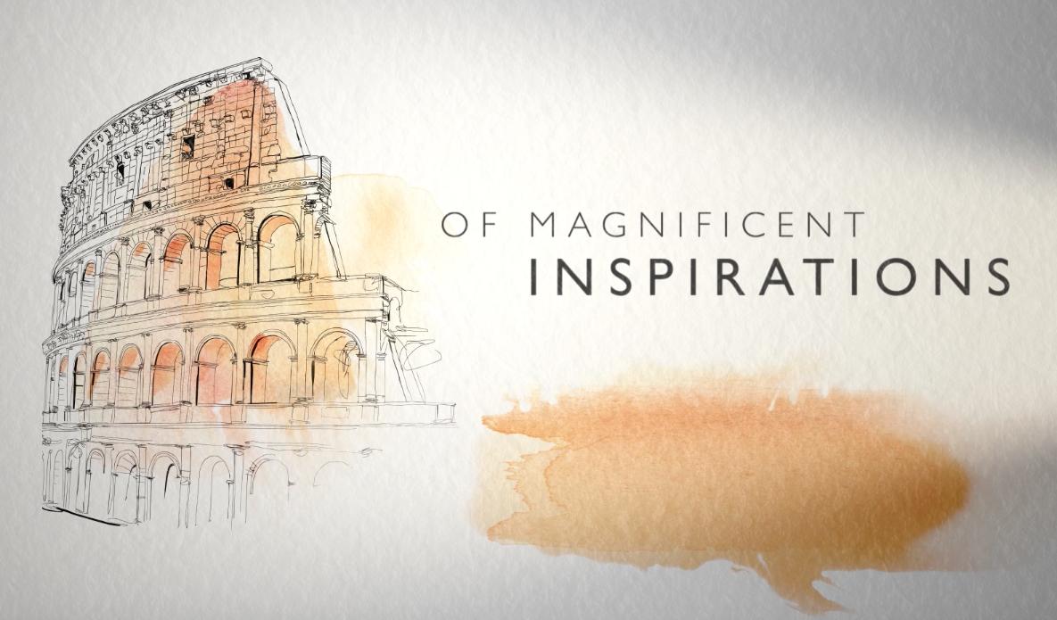 watercolor illustration for animation, client Bulgari,