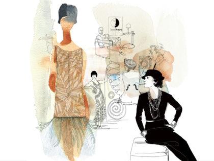 Illustrazione_acquerello_moda-anni_Venti-Alessandra_Scandella-2