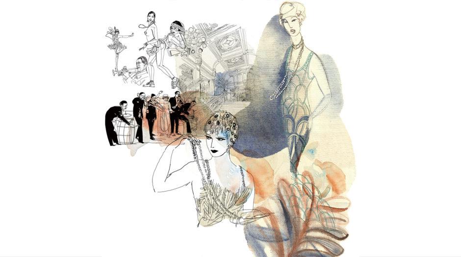 Illustrazione_acquerello_moda-anni_Venti,-fashion-Alessandra _Scandella