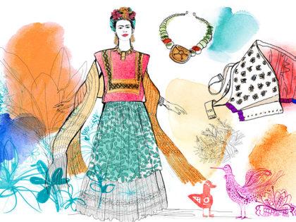 Watercolor illustratrion fashion, style, icon,Alessandra Scandella,