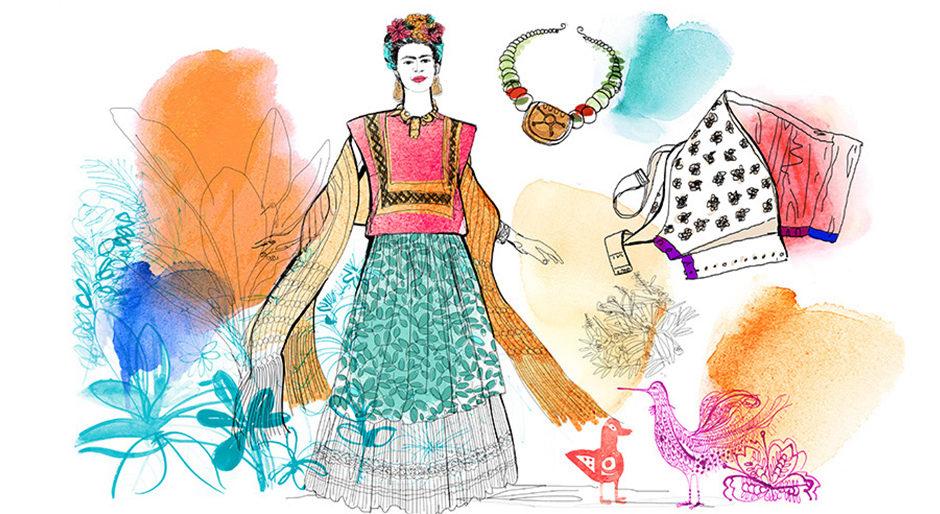 Watercolor illustration, fashion, 2, Alessandra Scandella