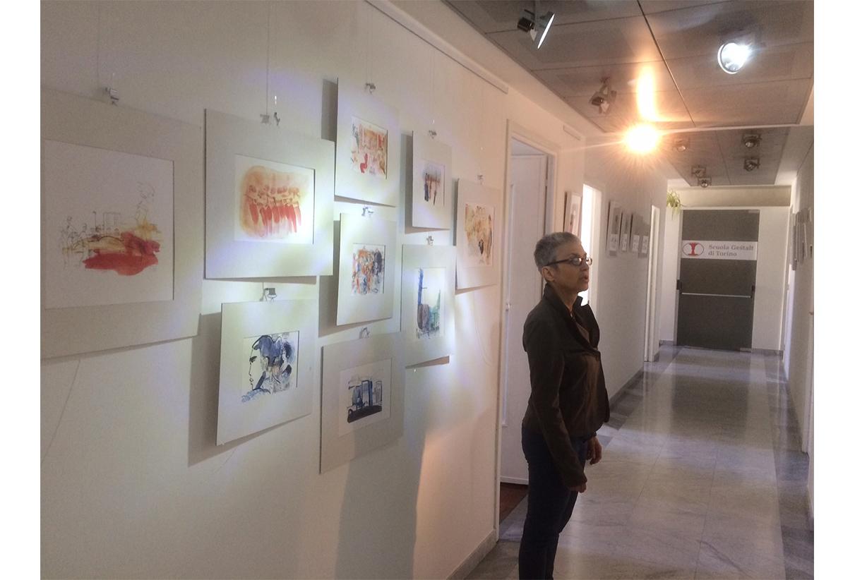 Exhibition in Torino, IBTG Institute