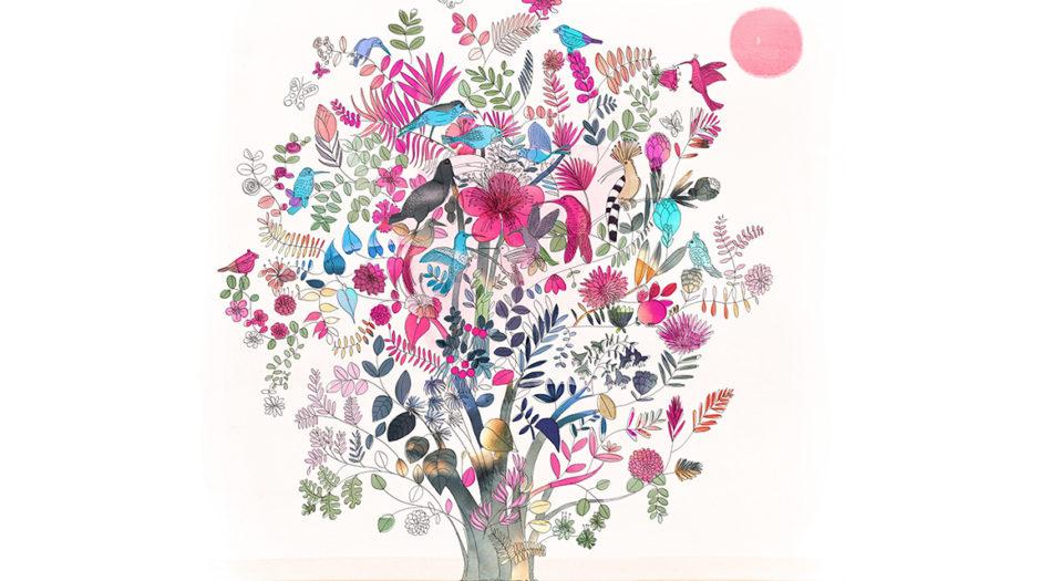 watercolor-illustration-tree,albero, nature, earth, Alessandra Scandella