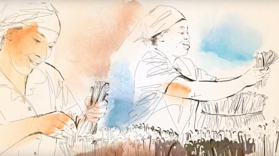 Watercolor animation, 1, Alessandra Scandella