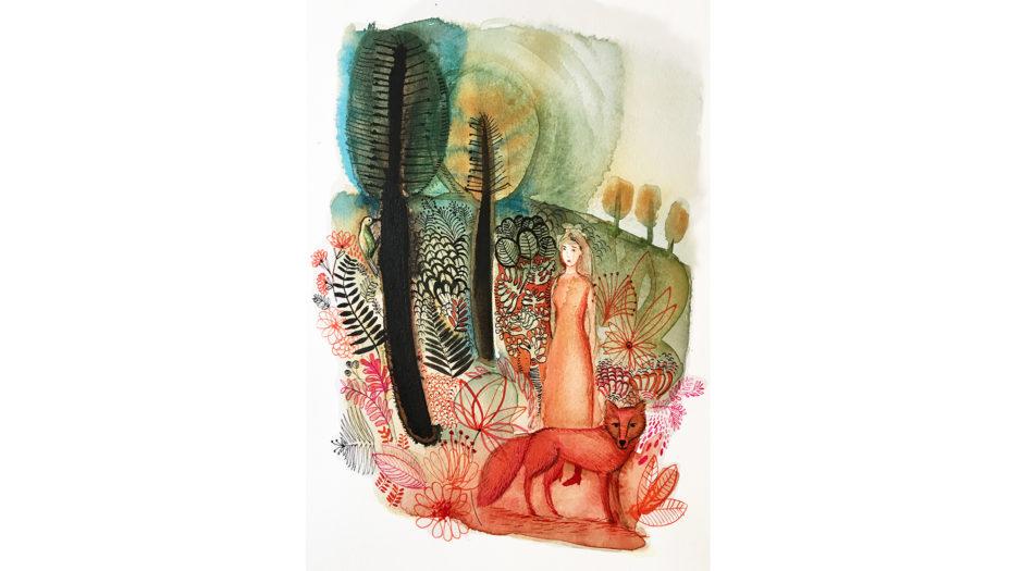 Watercolor children, 1,concept, illustration, Alessandra Scandella
