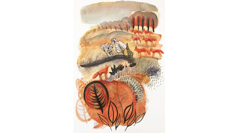 Watercolor children, 3, concept, illustration, Alessandra Scandella