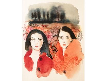 Watercolor fashion, concept, 1,illustration, Alessandra Scandella