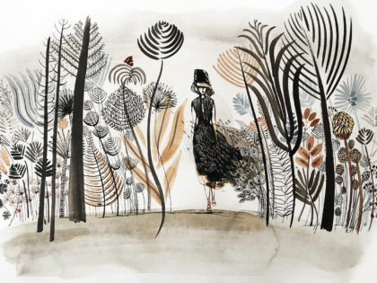 Watercolor fashion, concept,1, illustration, Alessandra Scandella