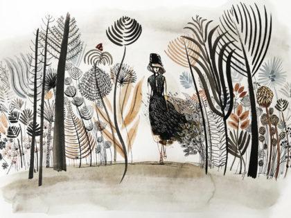 Watercolor fashion, concept,1, illustration, Alessandra Scandella