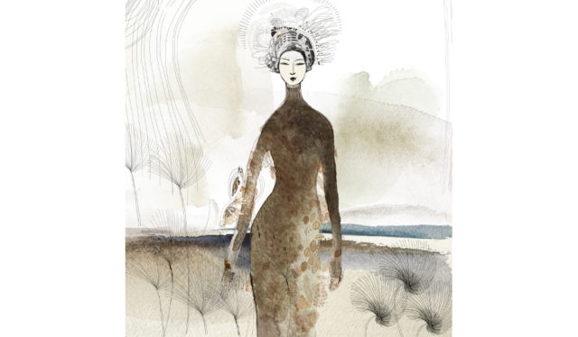 watercolor fashion illustration, Alessandra Scandella copy