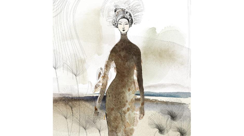 watercolor fashion illustration, Alessandra Scandella copy