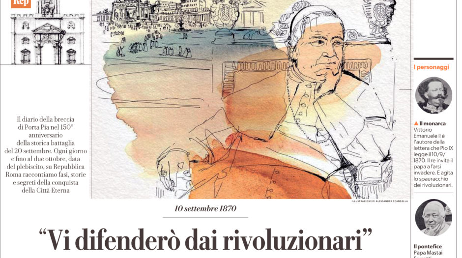 [ROMA - 13]  LAREPUBBLICA/ROMA/CRONACA/13 ... 10/09/20