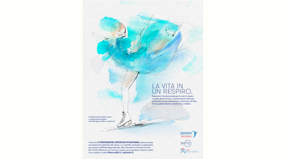 Watercolor illustration, health, sport, fitness, 1, Alessandra Scandella