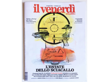 Cover illustration Il Venerdi' La Repubblica,1, Alessandra Scandella